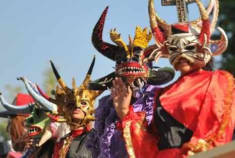 Ponce Carnival Masks